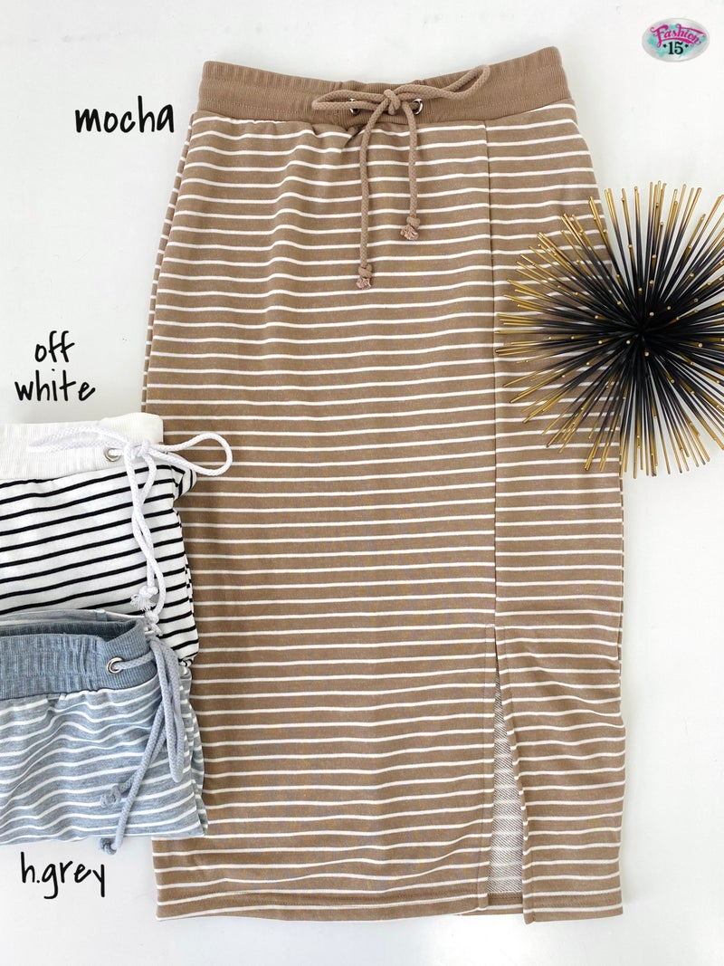 .Striped Skirt