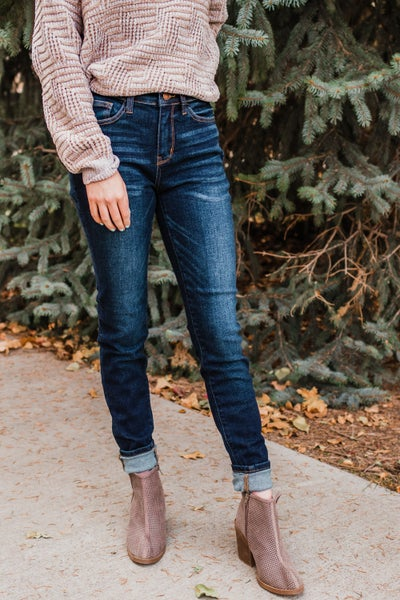 Judy Blue High Waist Skinny Fit Denim