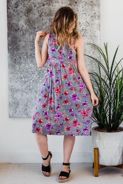Floral Midi Dress *Final Sale*