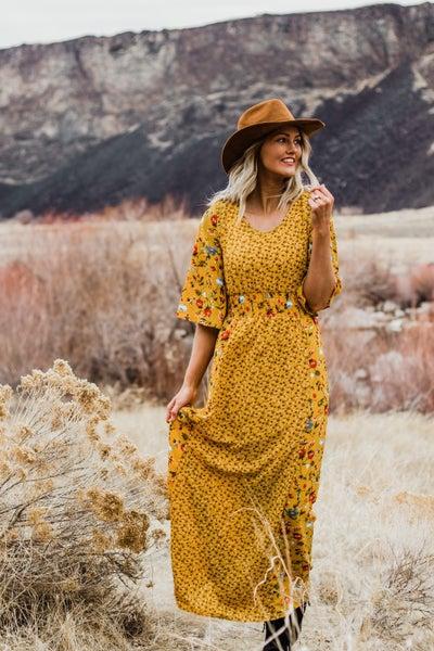 Floral Maxi Dress *Final Sale*