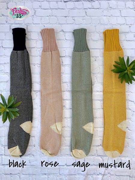 Knit Lounge Socks
