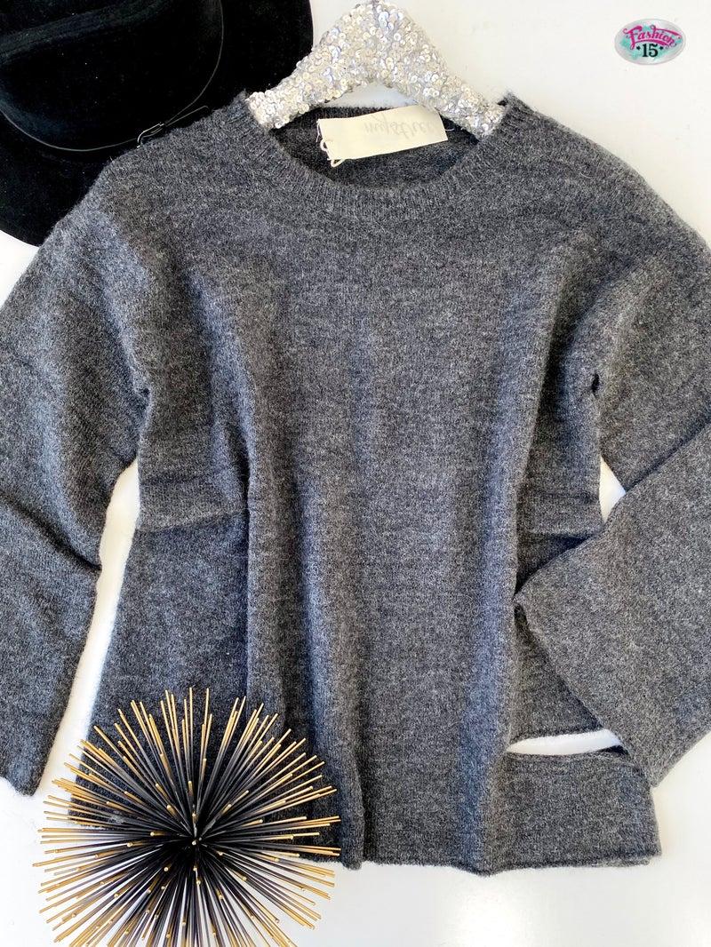 .Distressed Sweater