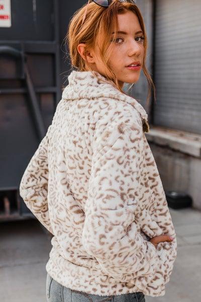 *Erin's Closet* Super Soft Animal Print Jacket