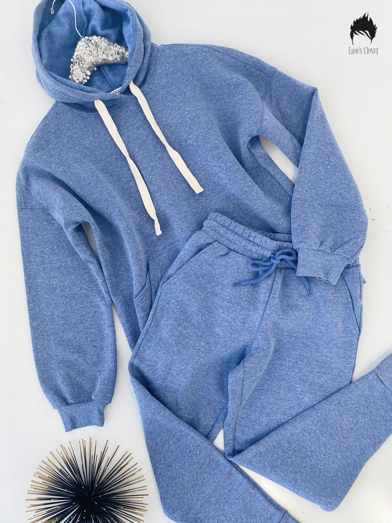 Mid Navy $20 Hoodie Jogger Sets
