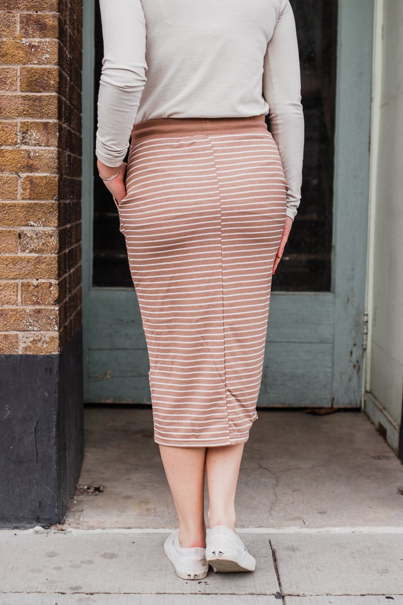 .Striped Skirt