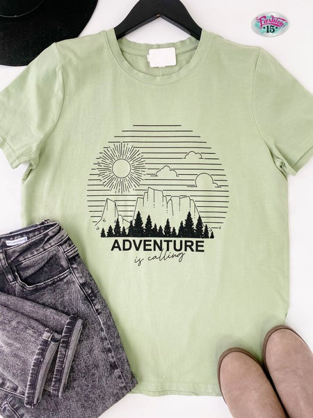 Adventure Is Calling Graphic