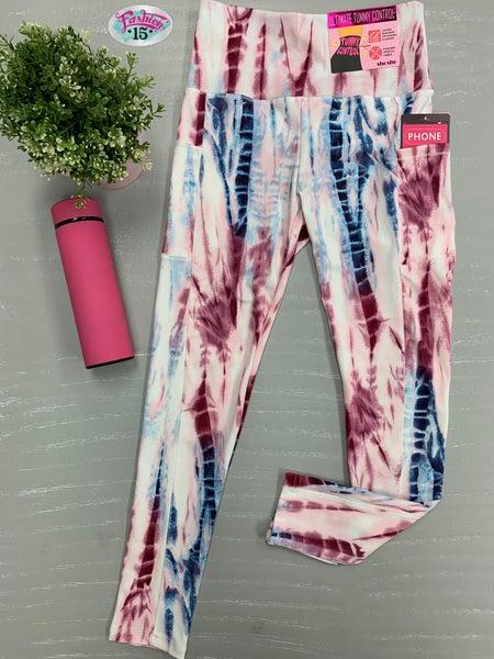 Pink Tye Dye Leggings