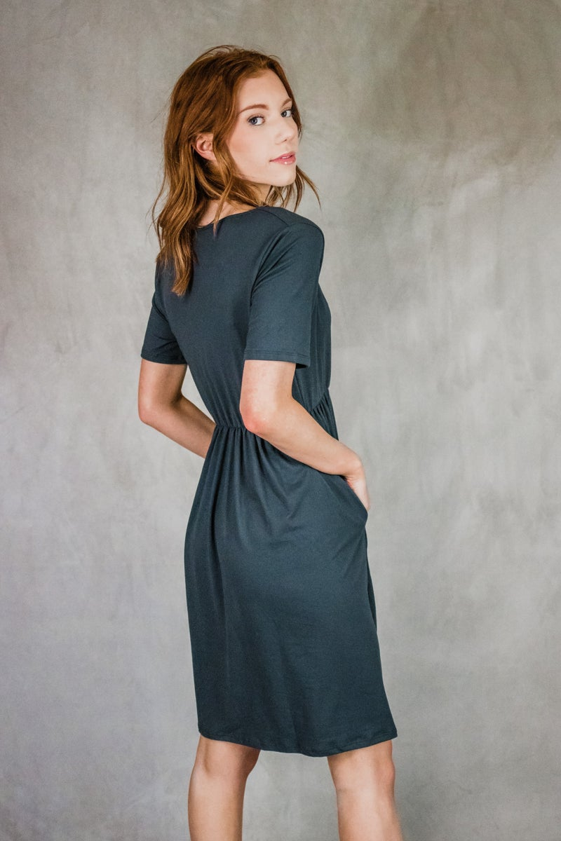Buttery Soft Crossover Dress