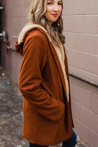 *.Erin's Closet* Super Soft Carmel Jacket