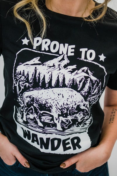 ~Prone To Wander Graphic
