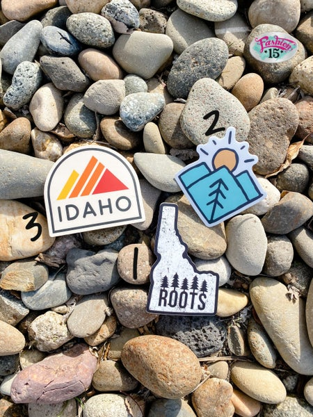Idaho Nature Stickers