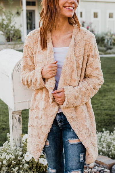 *.Erin's Closet* Super Soft Cream Jacket