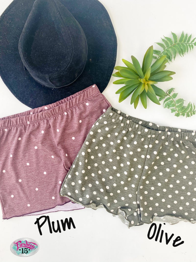 ~Polka Dot Shorts