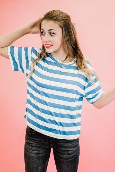 Super Soft Striped Top