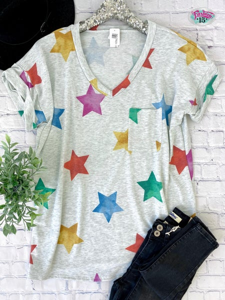 Plus Star Top w/ Pocket