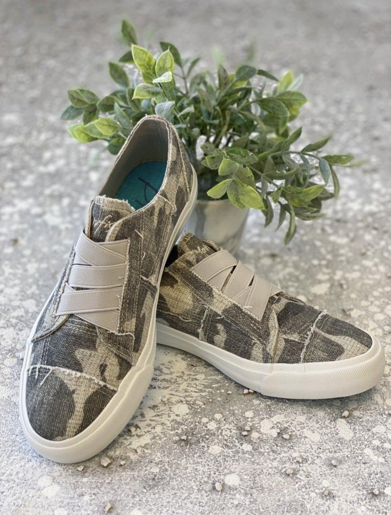 BLOWFISH Camo Slip On Shoe