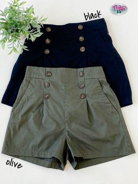 Shorts w/ Elastic Back