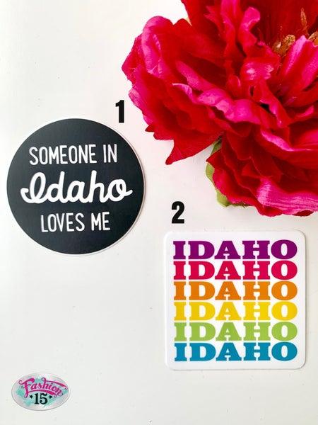 Idaho Stickers