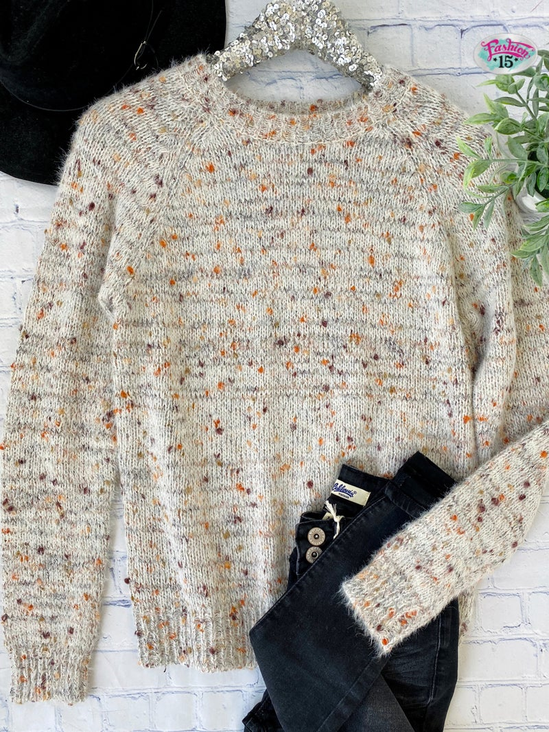 Confetti Knit Top