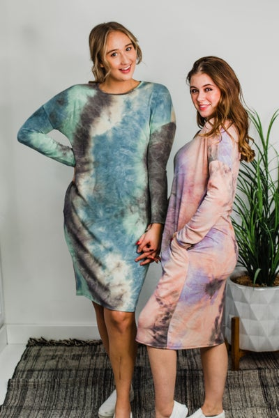 .Tye Dye Dress