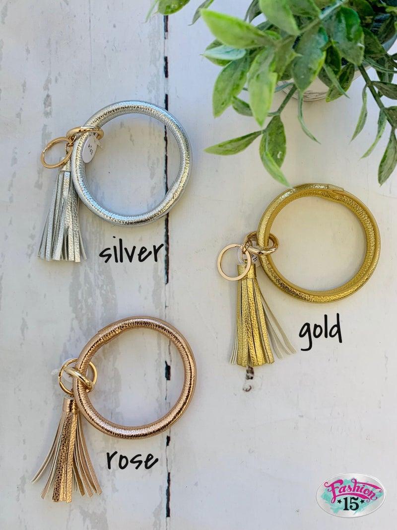 Bangle Key Ring