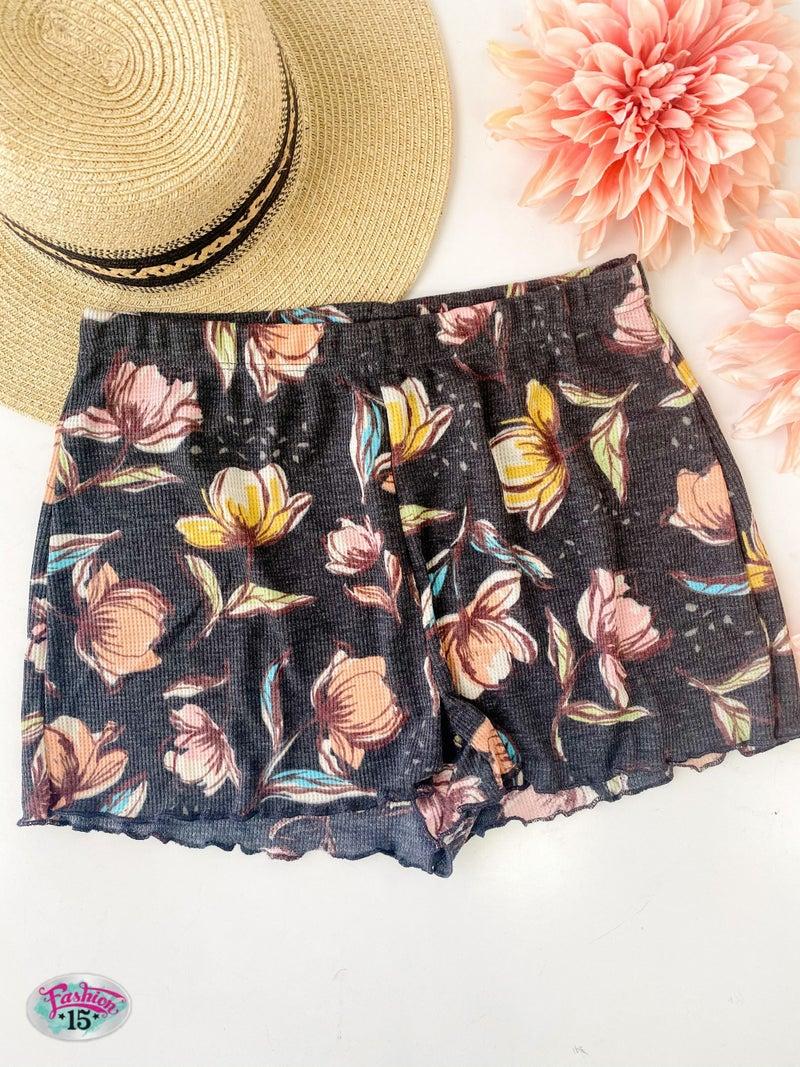 ~Floral Shorts