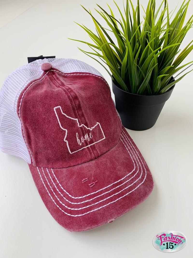 Wine Idaho Home Baseball Hat