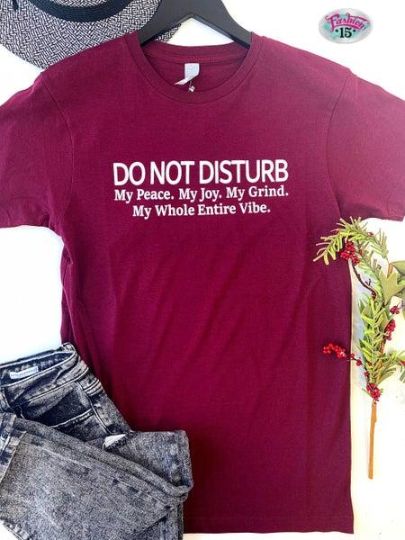 Do Not Disturb Graphic