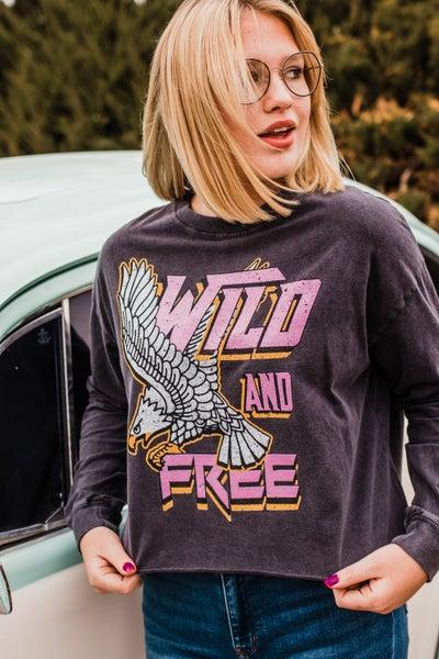 .*Erin's Closet* Wild & Free Graphic *Final Sale*