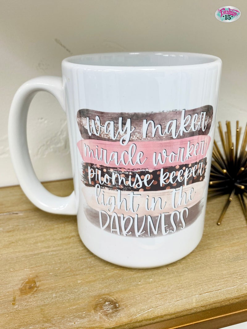 Way Maker Mug