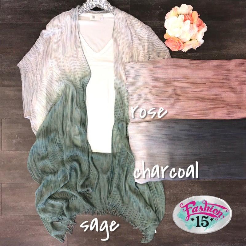 Ombre Kimono