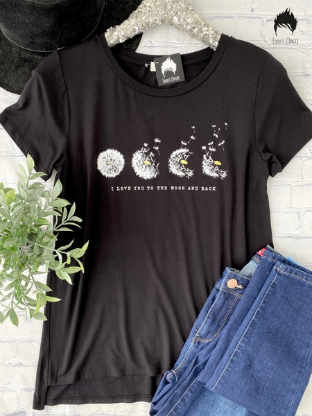 .*Erin's Closet* Love You To The Moon And Back Graphic *Final Sale*