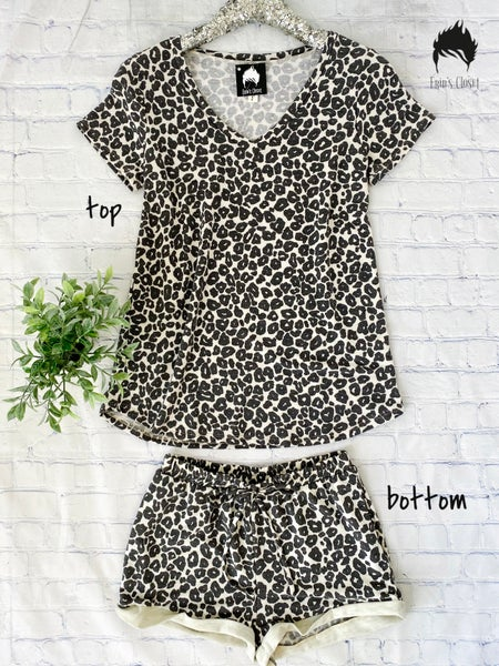 .*Erin's Closet* Animal Print Loungewear *Final Sale*