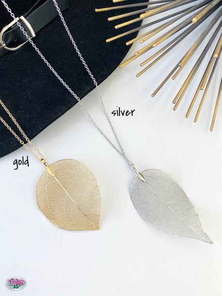 .Leaf Necklace