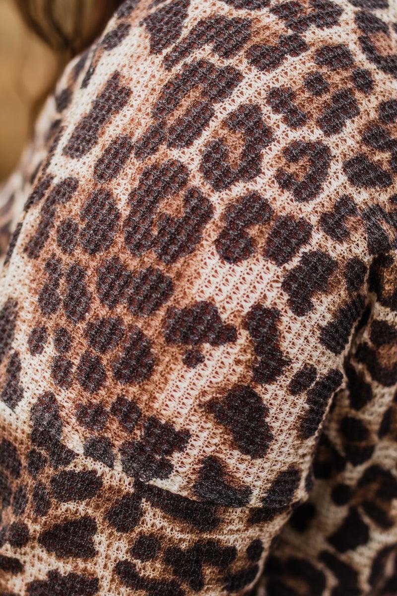 Plus Animal Print Tunic Top