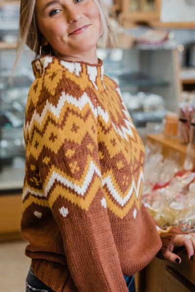 Knit Mock Neck Sweater *Final Sale*