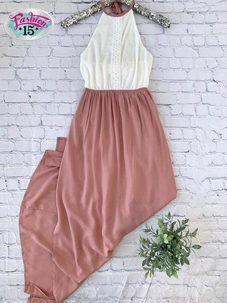 Rose & Ivory Maxi Dress