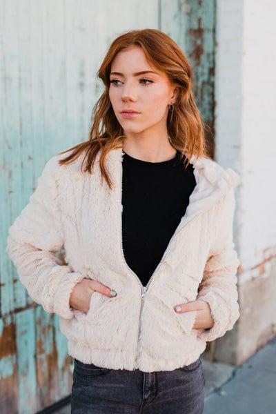 .Faux Fur Jacket *Final Sale*