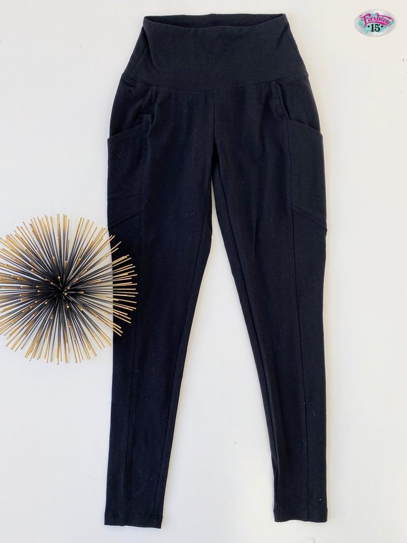 Black Leggings with Pockets