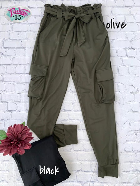 Paperbag Cargo Joggers