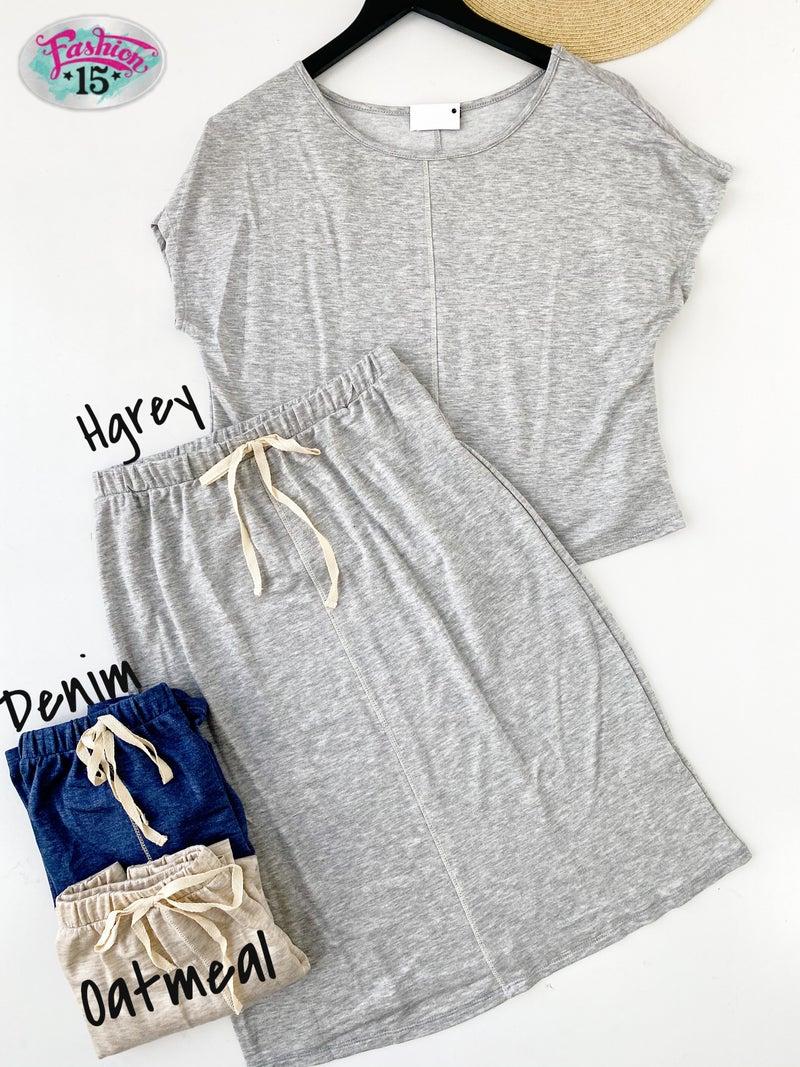 Super Soft Shirt & Skirt Set