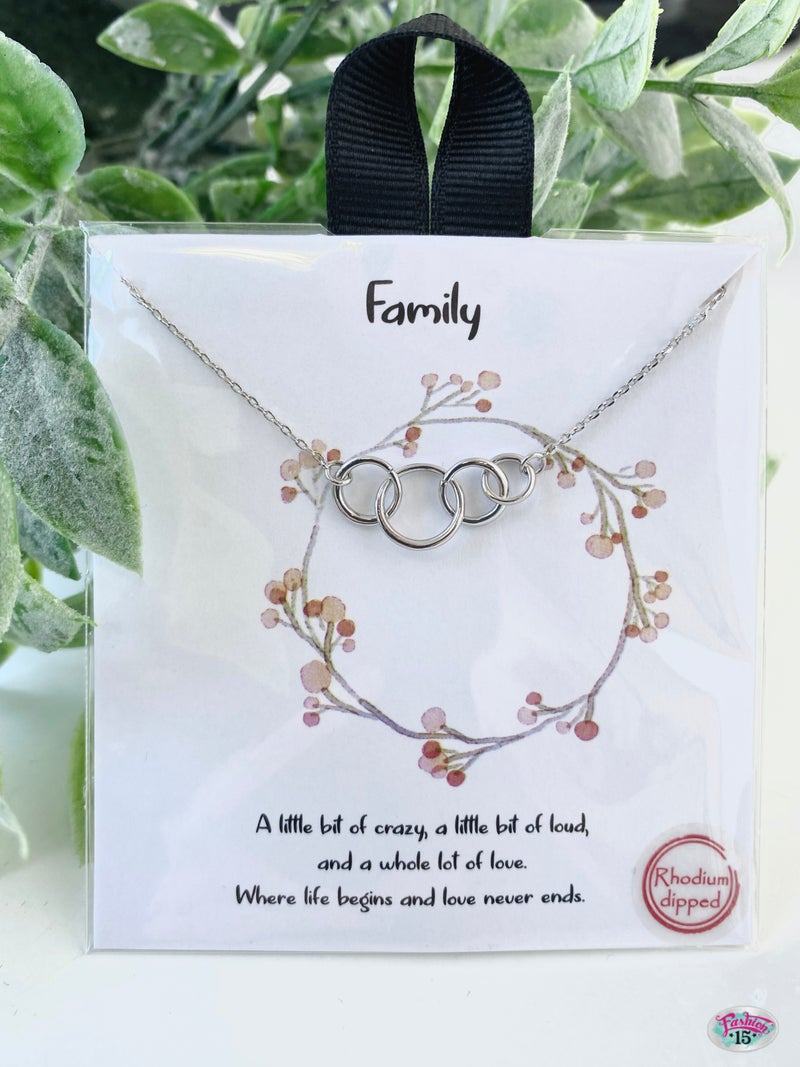 .Family Necklace