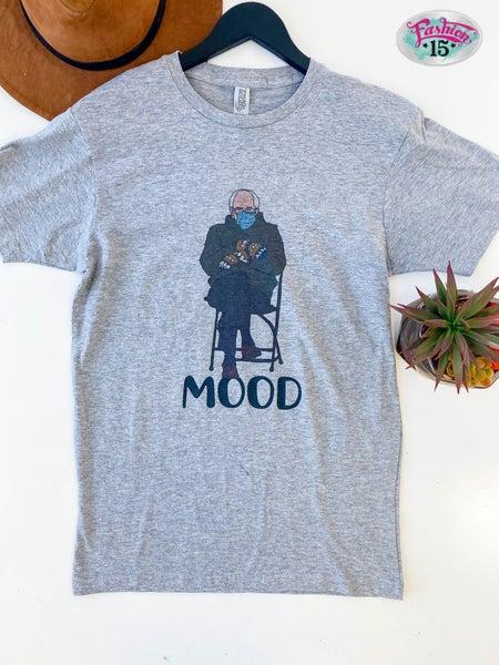 Bernie Sanders Mood Graphic