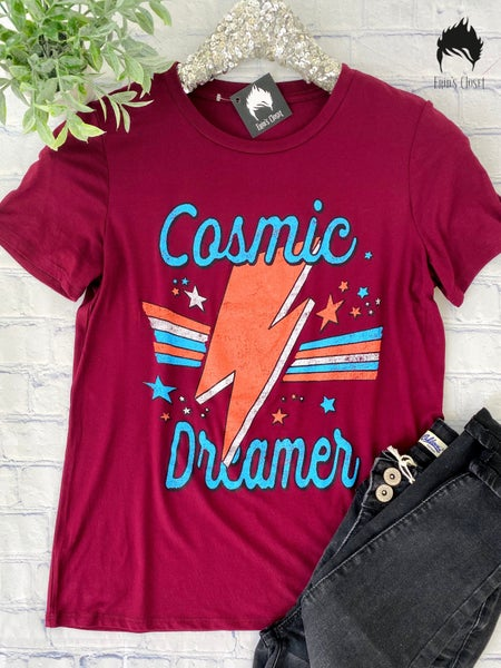 *Erin's Closet* Wine Cosmic Dreamer Graphic