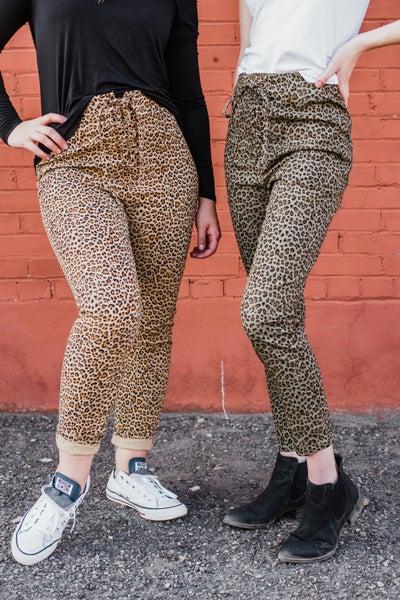.Animal Print Pants *Final Sale*