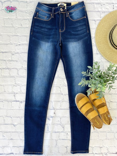 Dark Vintage Wash Denim