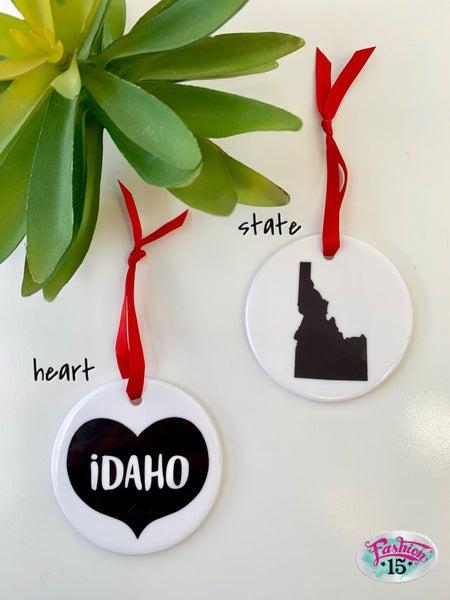 Idaho Ornaments