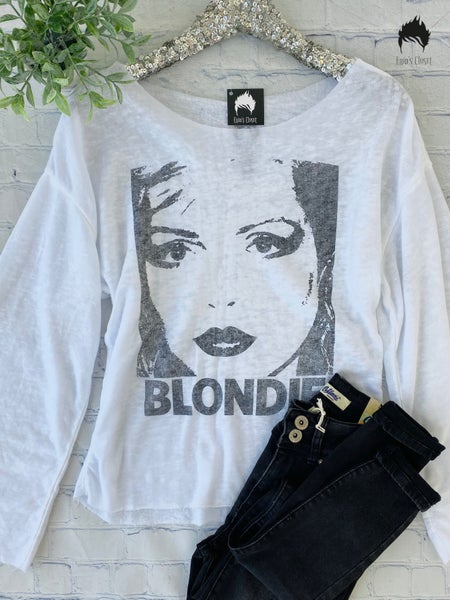 *.Erin's Closet* Long Sleeve Blondie Graphic *Final Sale*