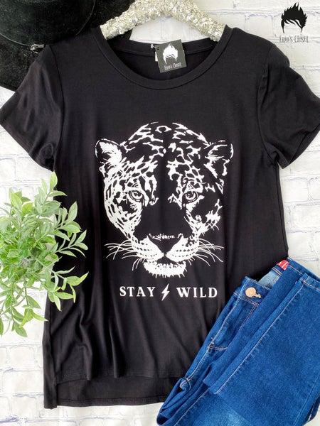 .*Erin's Closet* Stay Wild Graphic *Final Sale*