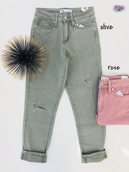 .High Rise Dream Fit Denim